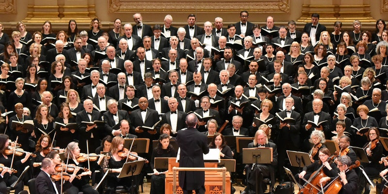 Oratorio Society of New York | Carnegie Hall Subscriptions | Dec/May
