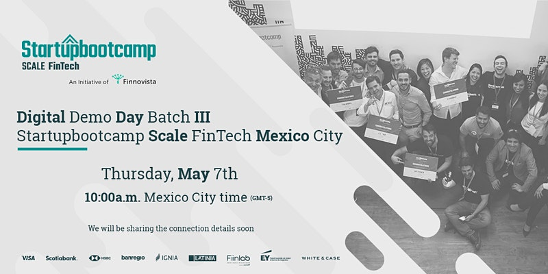 Digital Demo Day | Startupbootcamp Scale FinTech - Batch III