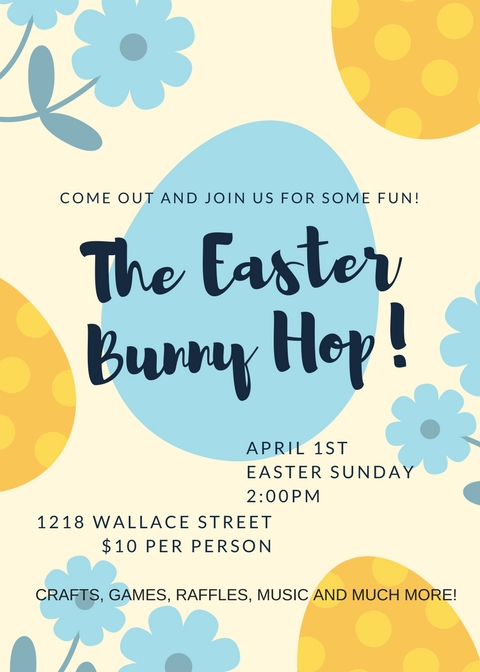 Kids Easter Bunny Hop 2018