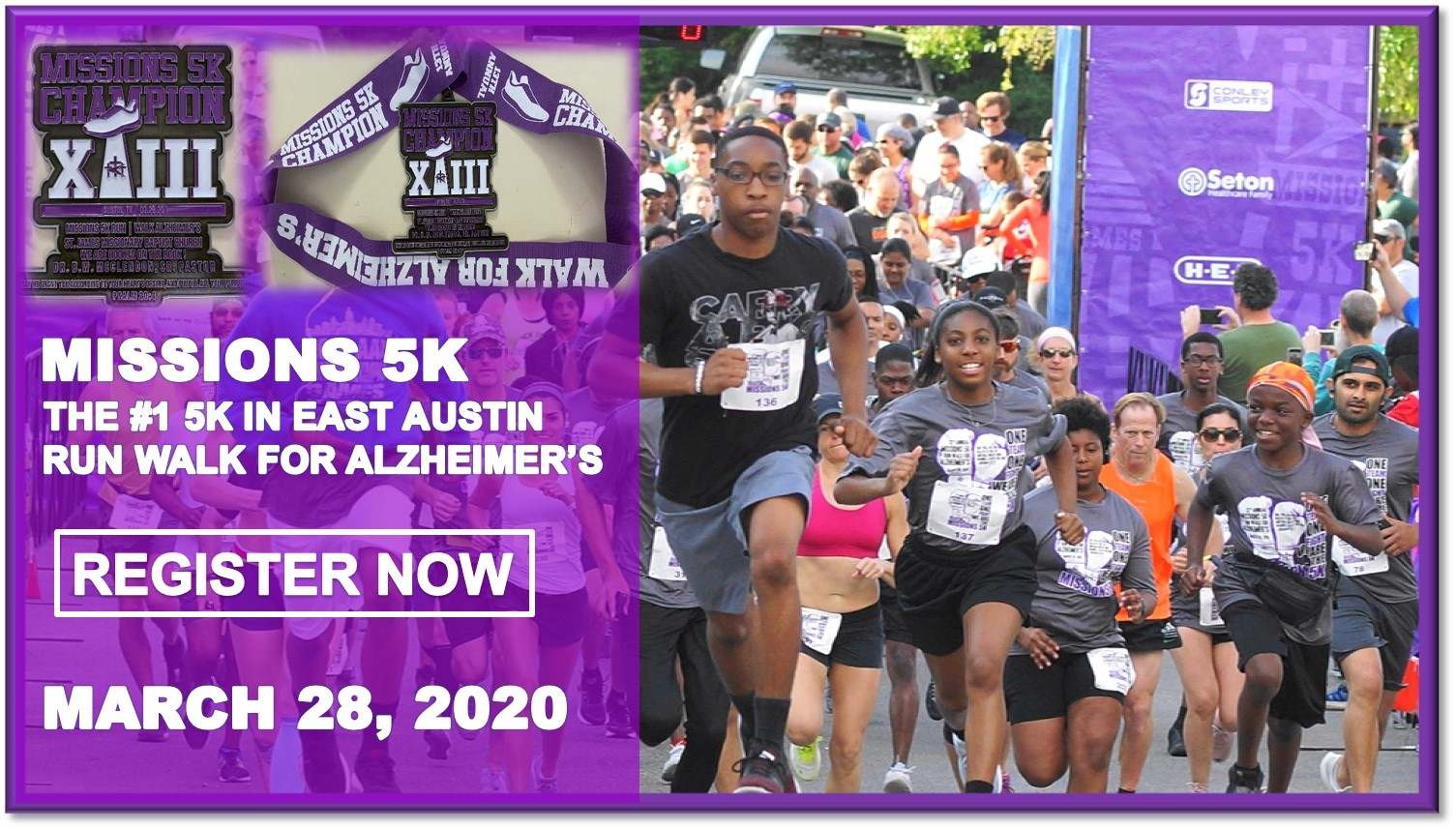 13th Annual Missions 5K Run Walk for Alzheimer's