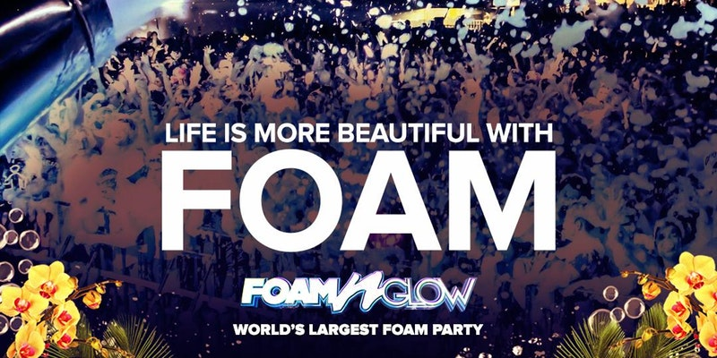Foam N' Glow Dallas, TX Life Is More Beautiful With Foam Tour