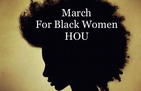 March for Black Women HOU