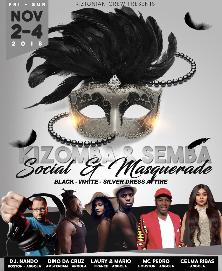 Semba & Kizomba Masquerade Party