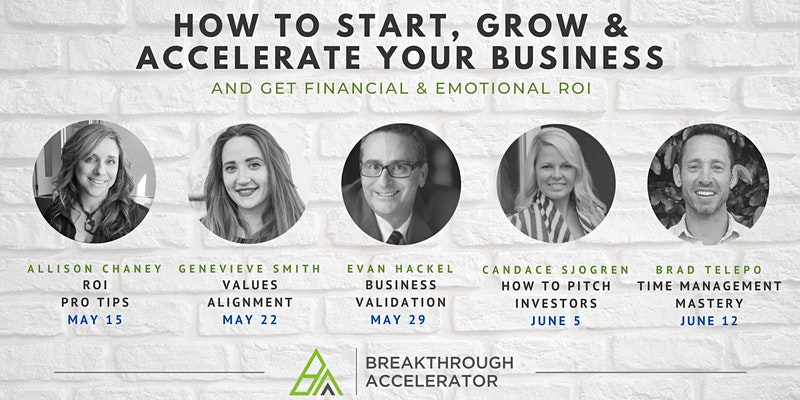 How to Start, Grow, & Accelerate Your Business