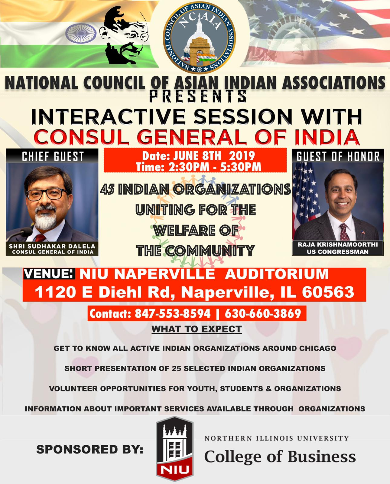 Interactive Session with the Consul General of India