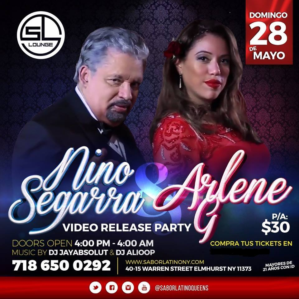 "THE GLOBAL VIDEO RELEASE PARTY FOR ""RETAME"" BY NINO SEGARRA FET. ARLENE G"