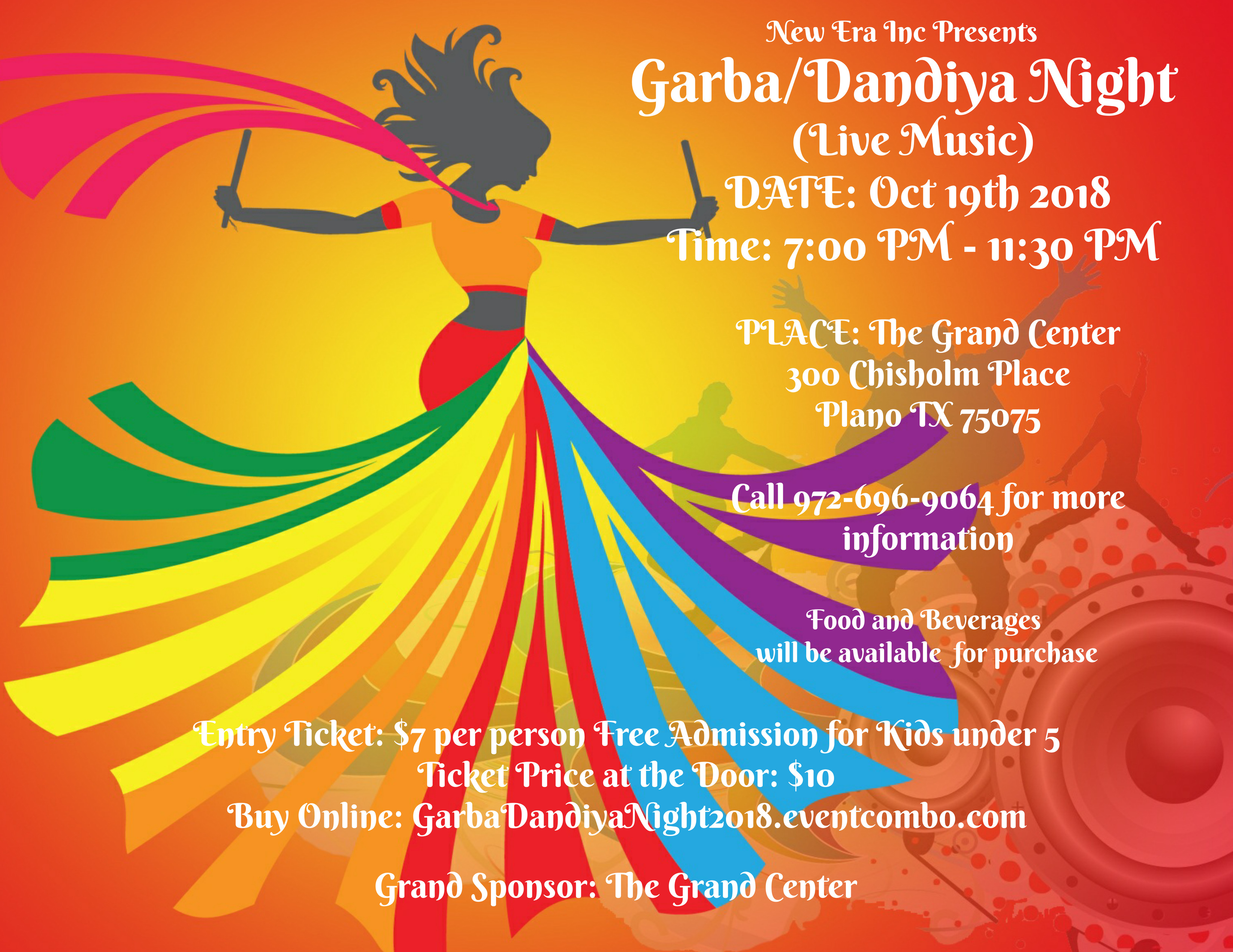 Garba Dandiya Night Eventcombo