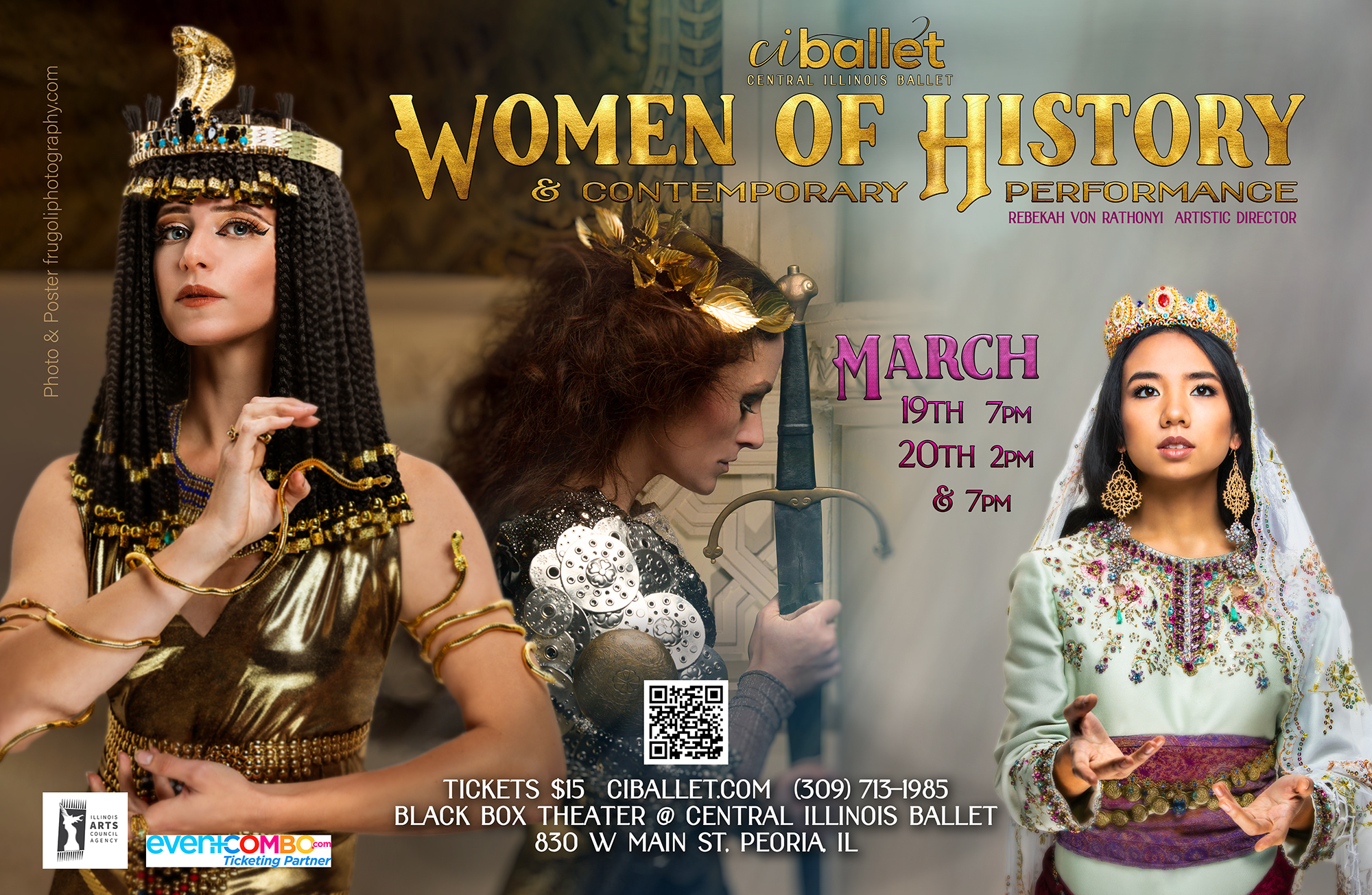 Women of History and Contemporary Performance