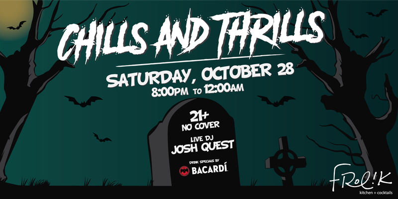 Chills + Thrills Halloween Bash