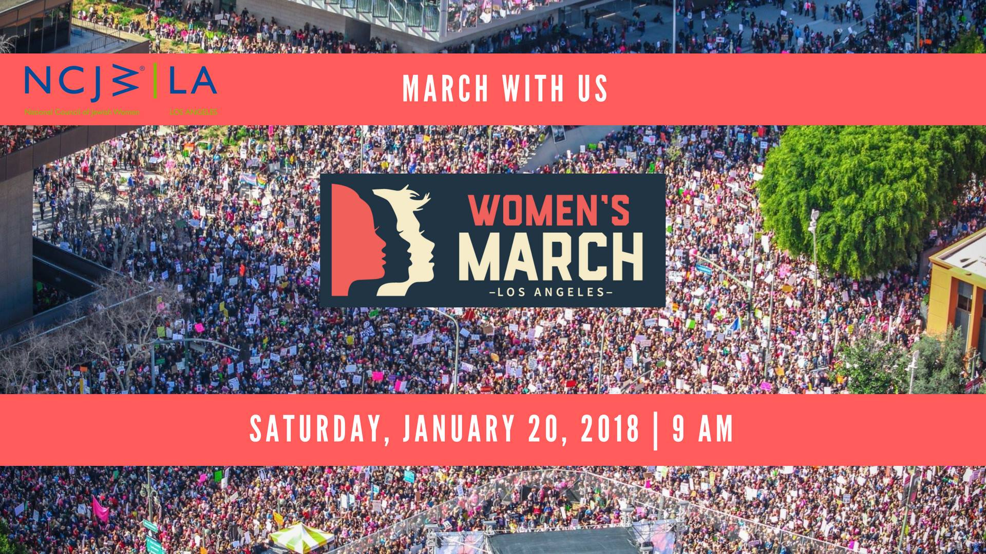 Women's March Los Angeles NCJW Group