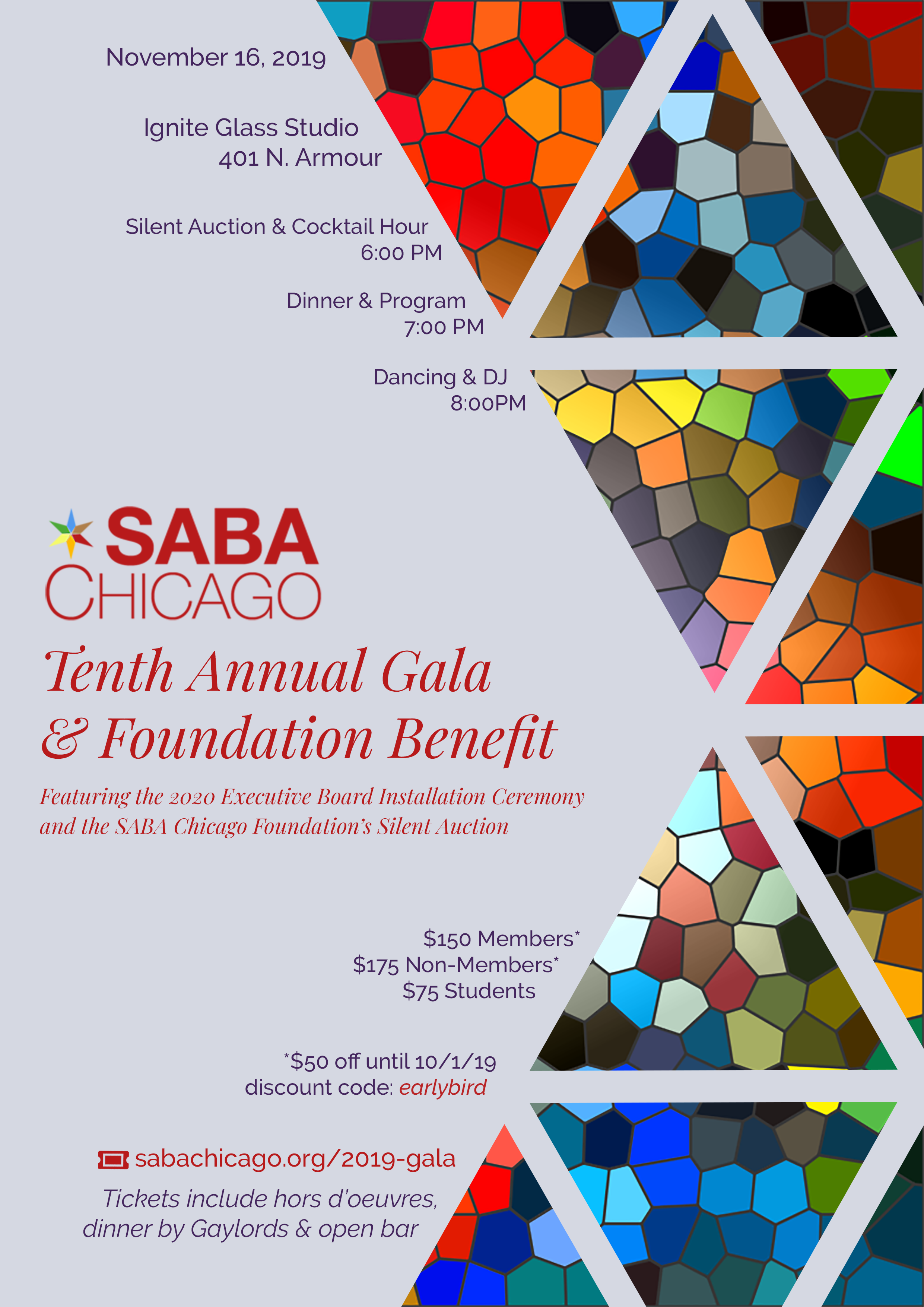 SABA Chicago Installation Ceremony & Foundation Benefit
