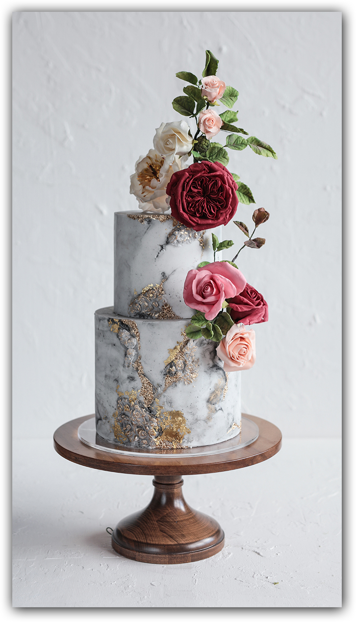 Fondant & Sugar Flower Masterclasses with Cupcakes & Counting - Blooms & Stone