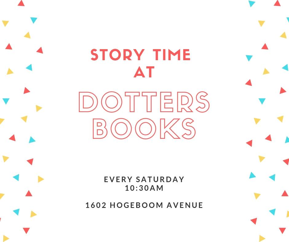 Story Time at Dotters Books