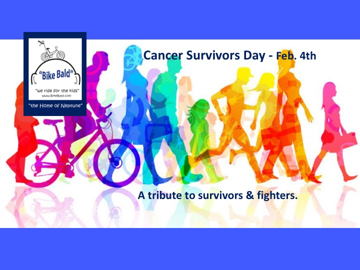 "Cancer Survivor Day ""Salute to Heroes""- Bike Bald"