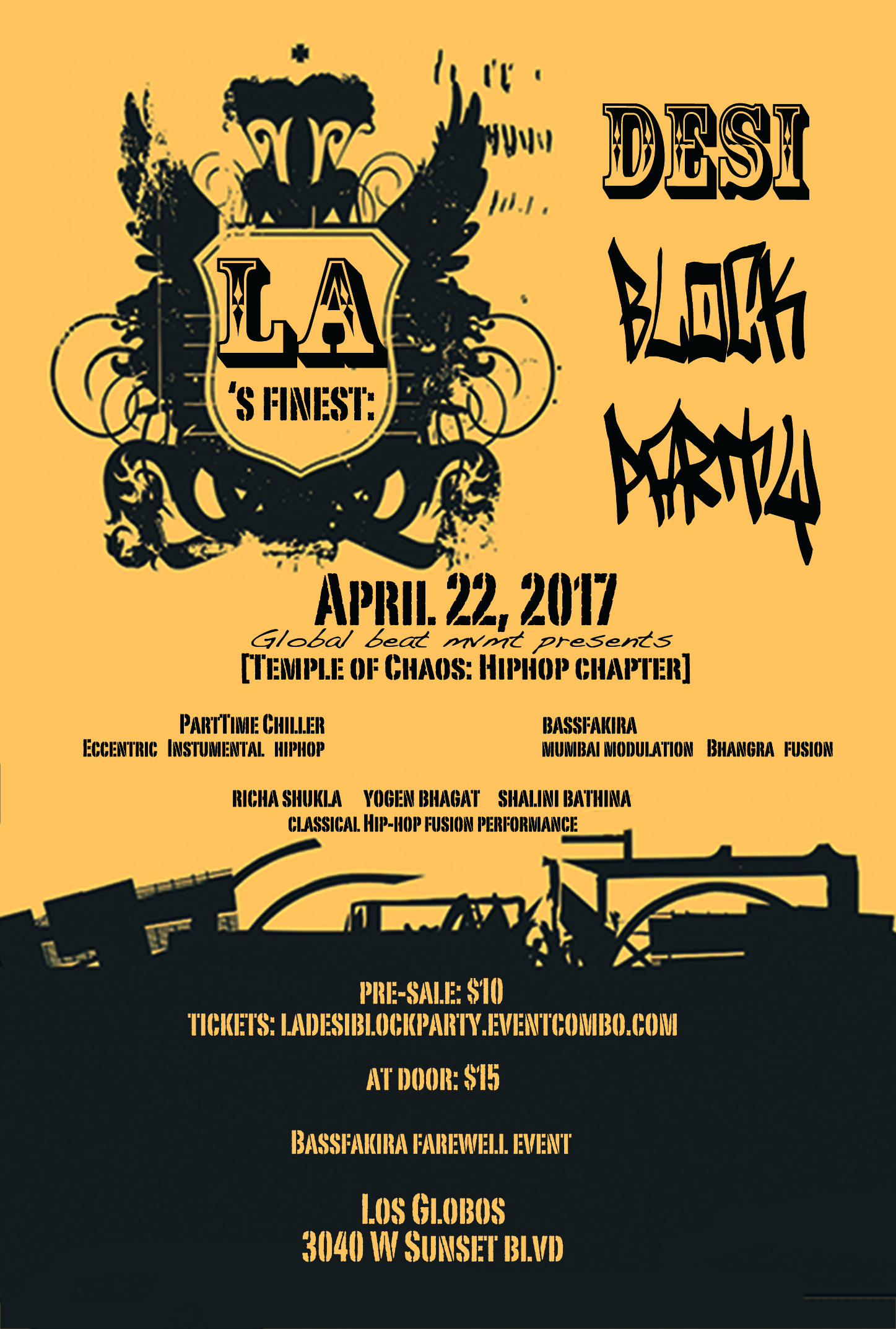 LA's Finest- DESI BLOCK PARTY