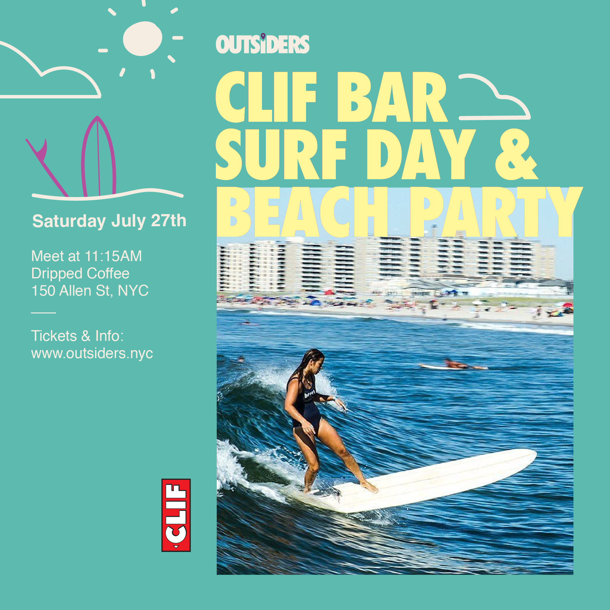 Clif Bar Surf Day & Beach Party