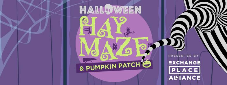 Fall Hay Maze and Pumpkin Patch in Jersey City  |  October 21 & 22, & 28