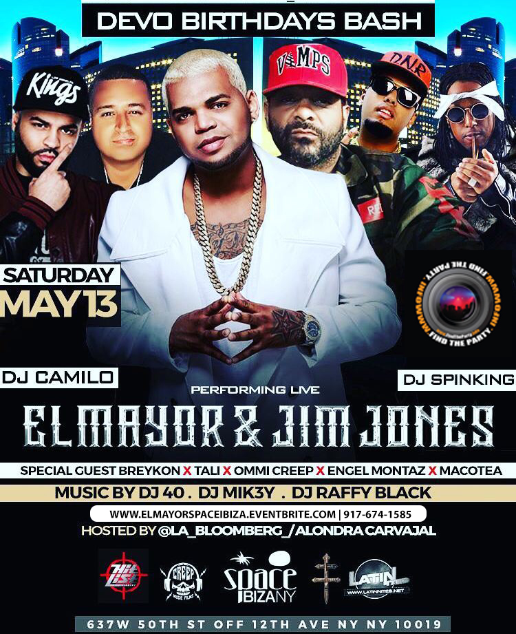 El Mayor Classico : Tali Goya : Jim Jones Rock Nation Live
