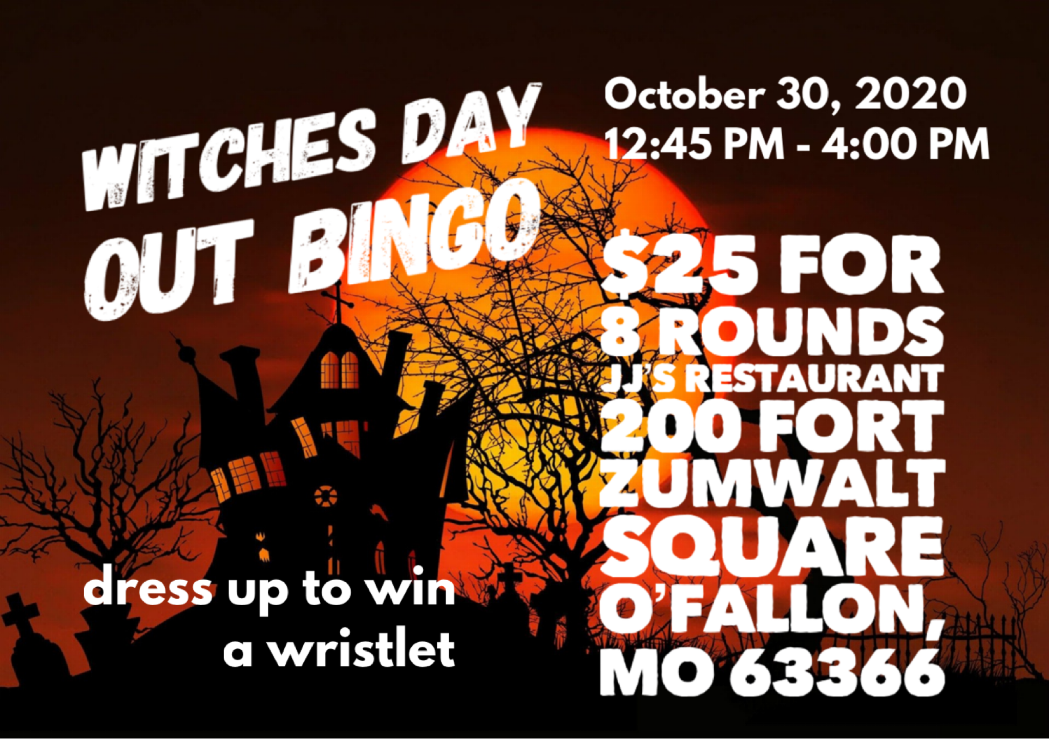 Witches Day Out Bingo