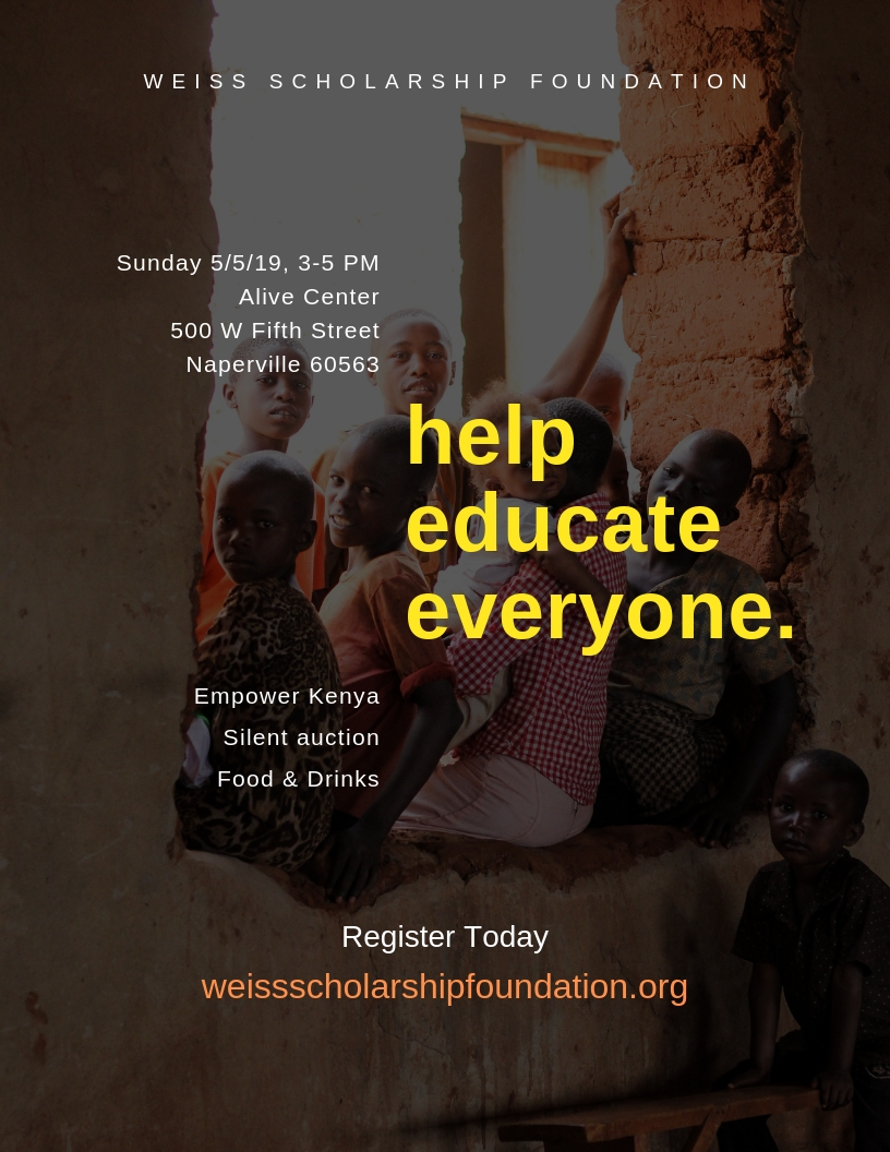 Weiss Scholarship Foundation - Empowering Kenyan Children