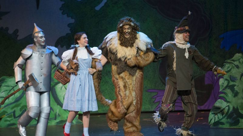 The Community Theatre of Greensboro presents The Wizard of Oz!