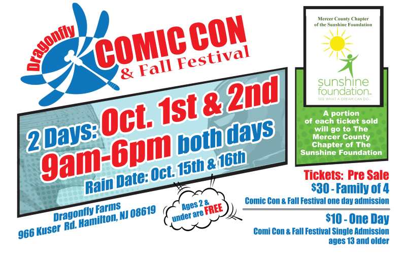 Dragonfly Comic Con & Fall Festival