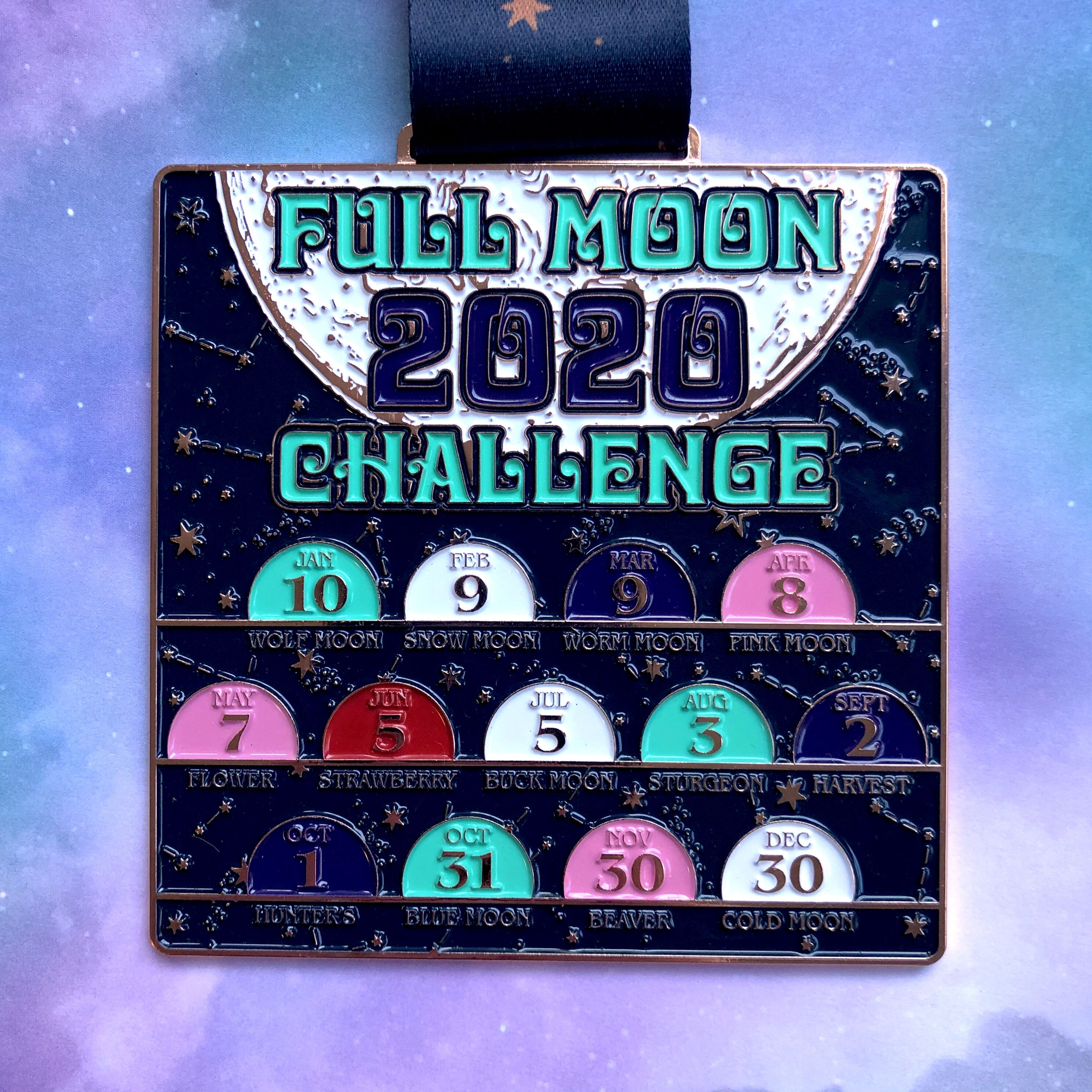 Full Moon Running and Walking Challenge