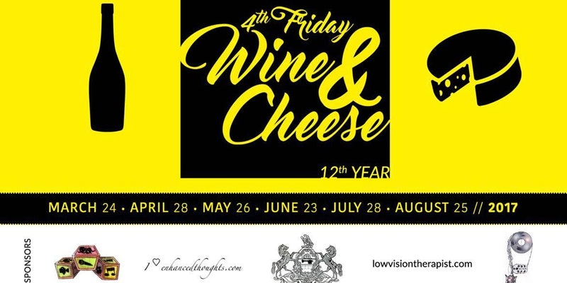4th Friday Wine & Cheese (Year 12)