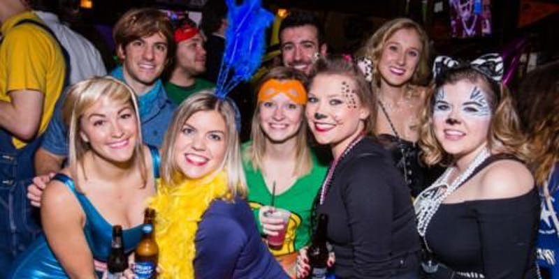 2018 Chicago Halloween Bar Crawl
