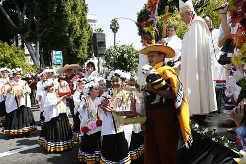 Historical Olvera Street Offers The Blessing Of The Animals