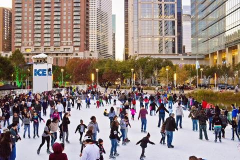 Discovery Green Presents The Ice For Your Ice Skating Enjoyment