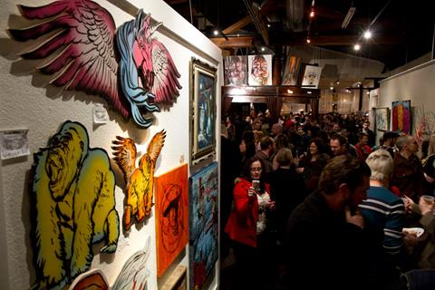 Experience Booze, Pancakes And Art At NYC's Pancakes & Booze Art Show