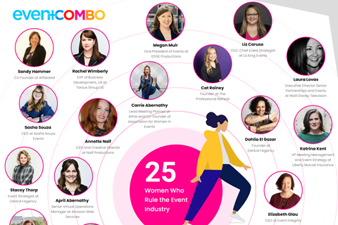 25 Women Who Rule the Event Industry
