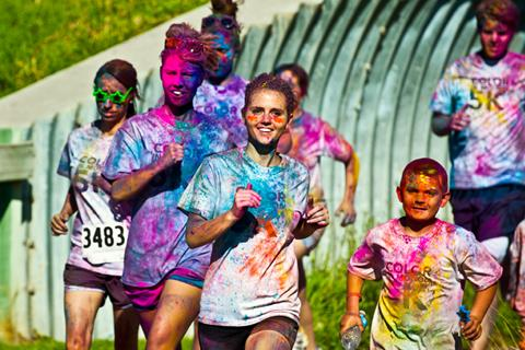 Lighten Up And Attend Houston's Color In Motion 5K Race