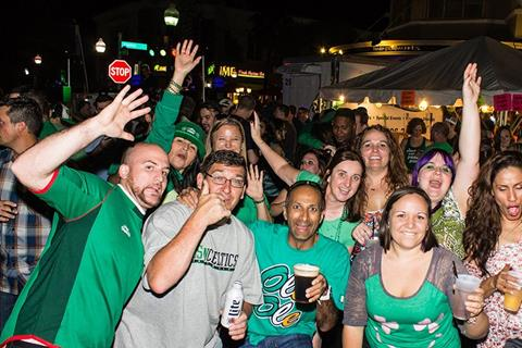 The Downtown District In Houston Presents Saint Patrick's Day Concert & Lepre-Con Pub Crawl