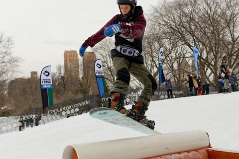 The Winter Jam Arrives At Manhattan's Central Park