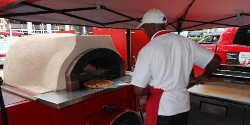 Chef TJ's Wood-fired Oven Pizzas and Live Music with The Don & Steve Show!