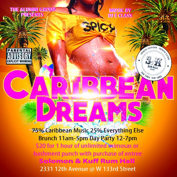 Caribbean Dreams - Brunch & Day Party