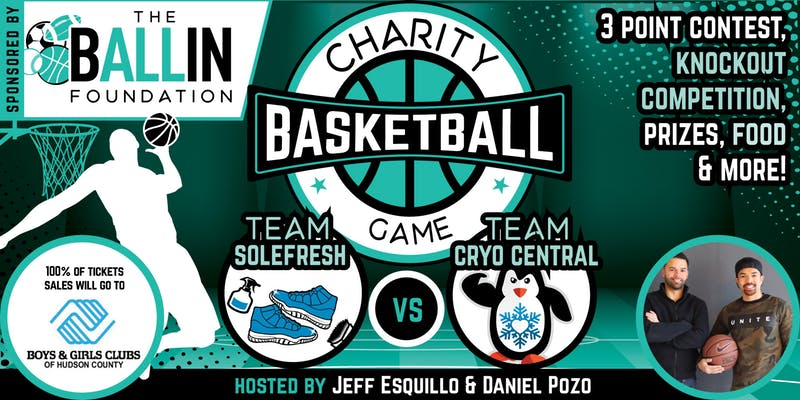 Jersey City's Charity Basketball Game: Sponsored by The B ALL IN Foundation