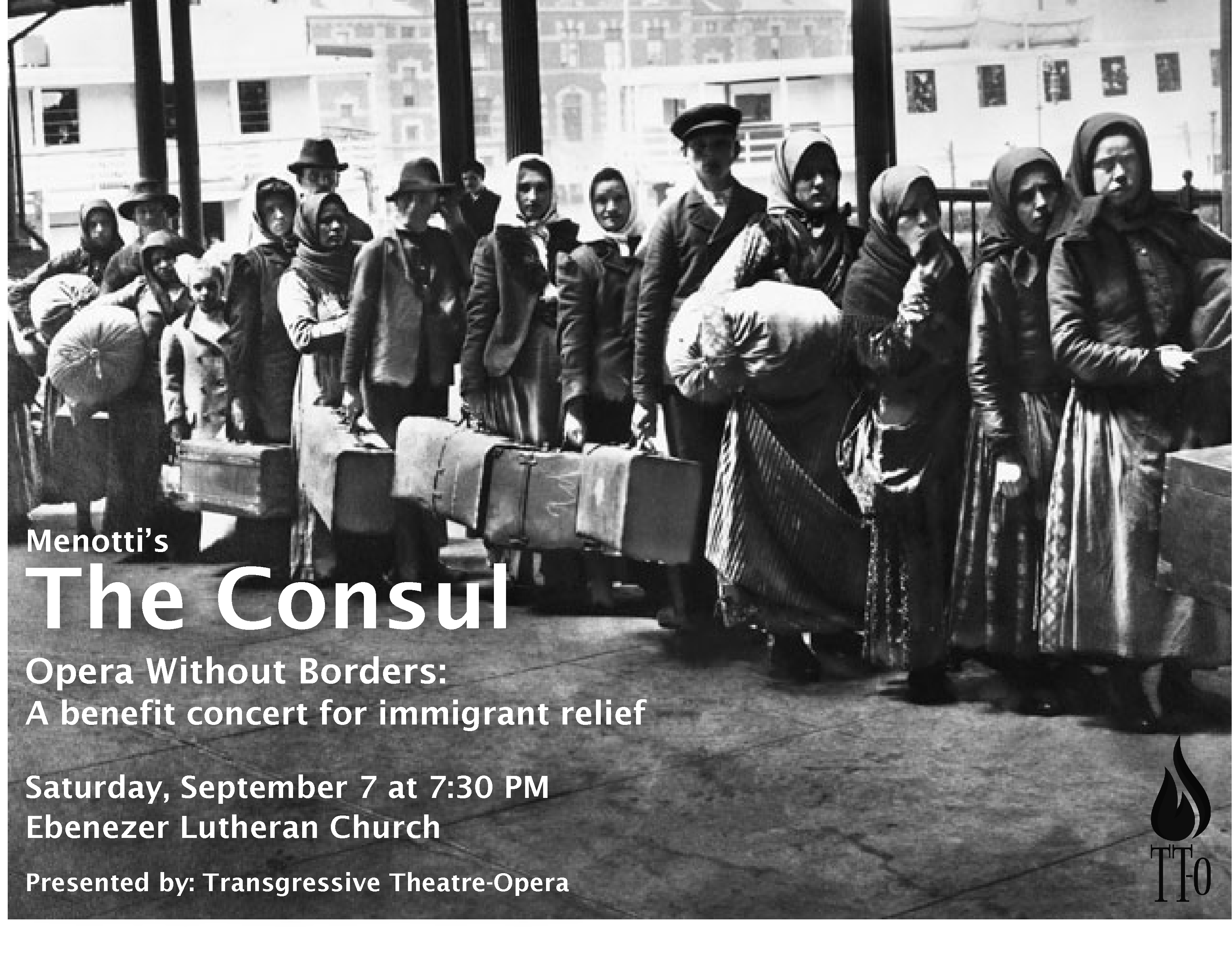 Menotti's The Consul: A benefit concert for immigrant relief