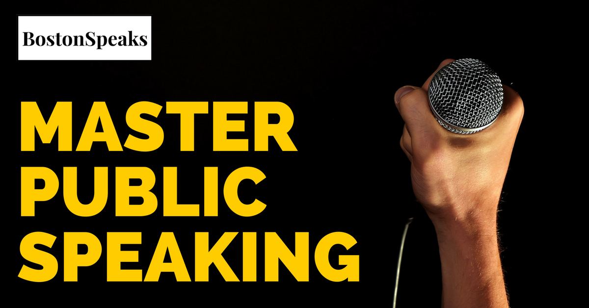 Master Public Speaking - 4 Week Intensive (July 8th - July 29th)