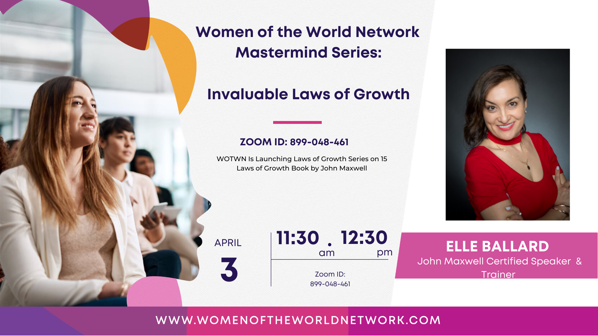 Women of the World Network: Mastermind Series