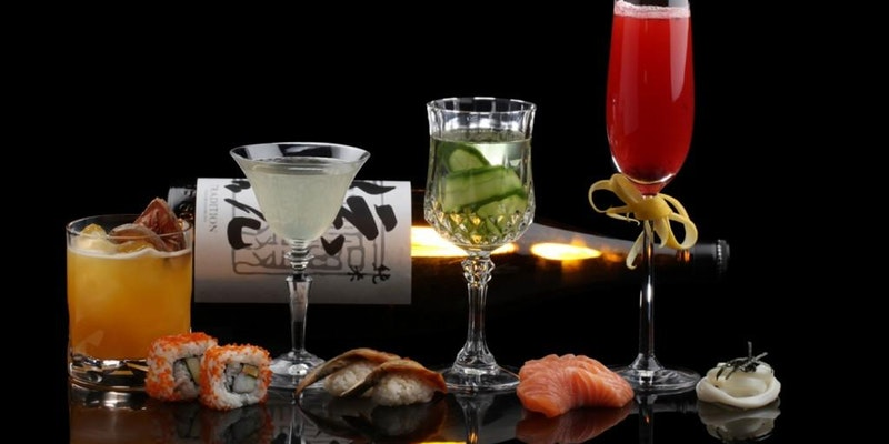 Wine Sake And Sushi Tasting Event