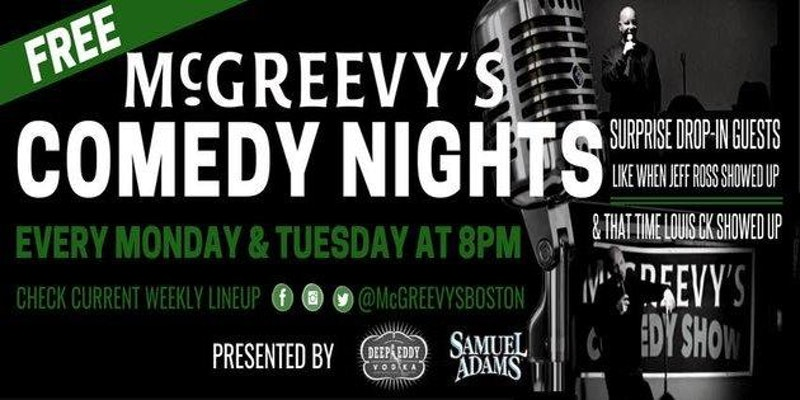 McGreevy's Free Comedy