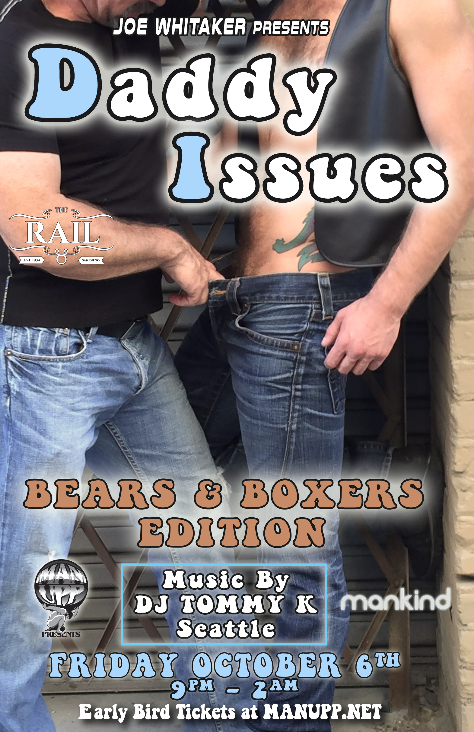 "Daddy Issues San Diego ""Bears & Boxers"" Edition by Joe Whitaker"