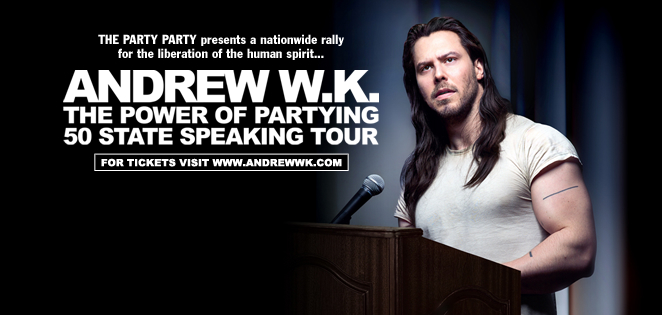 Andrew W.K.: The Power of Partying