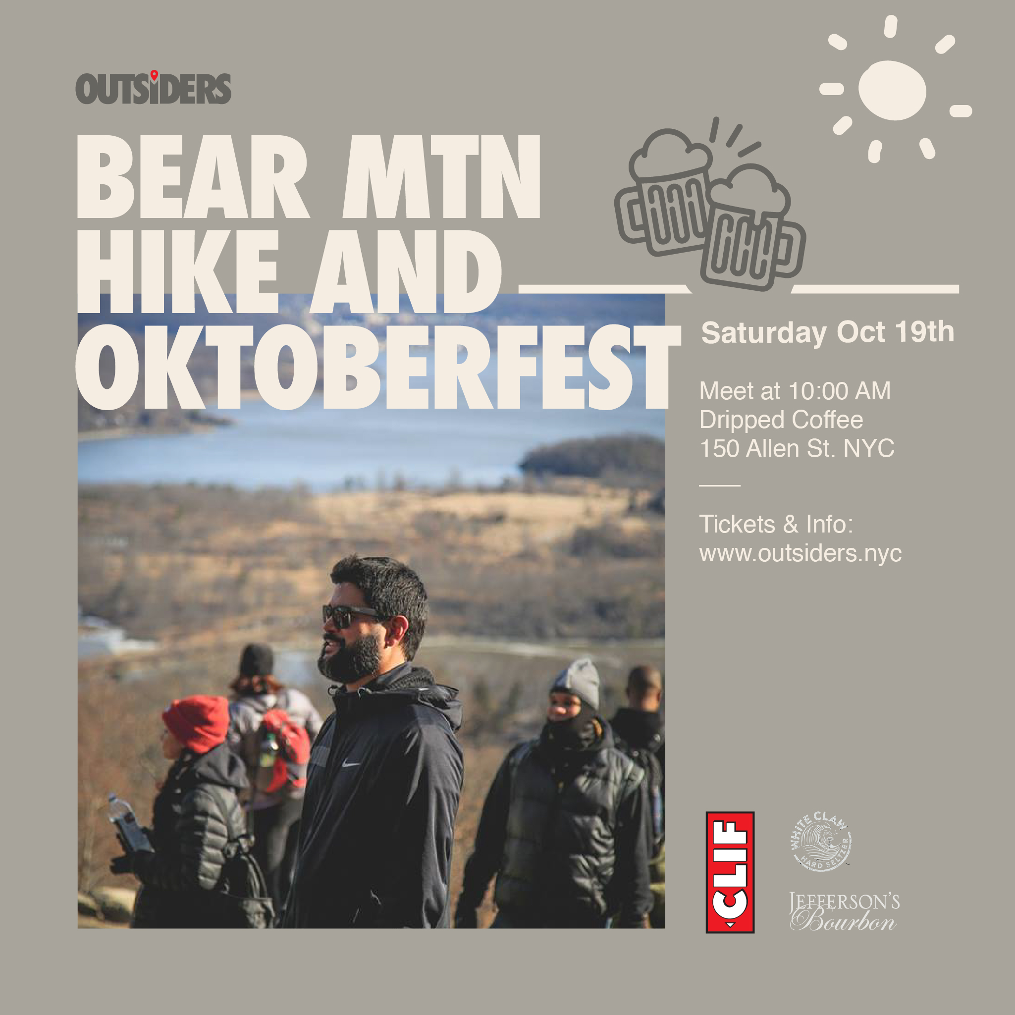 Bear Mountain Hike & Oktoberfest