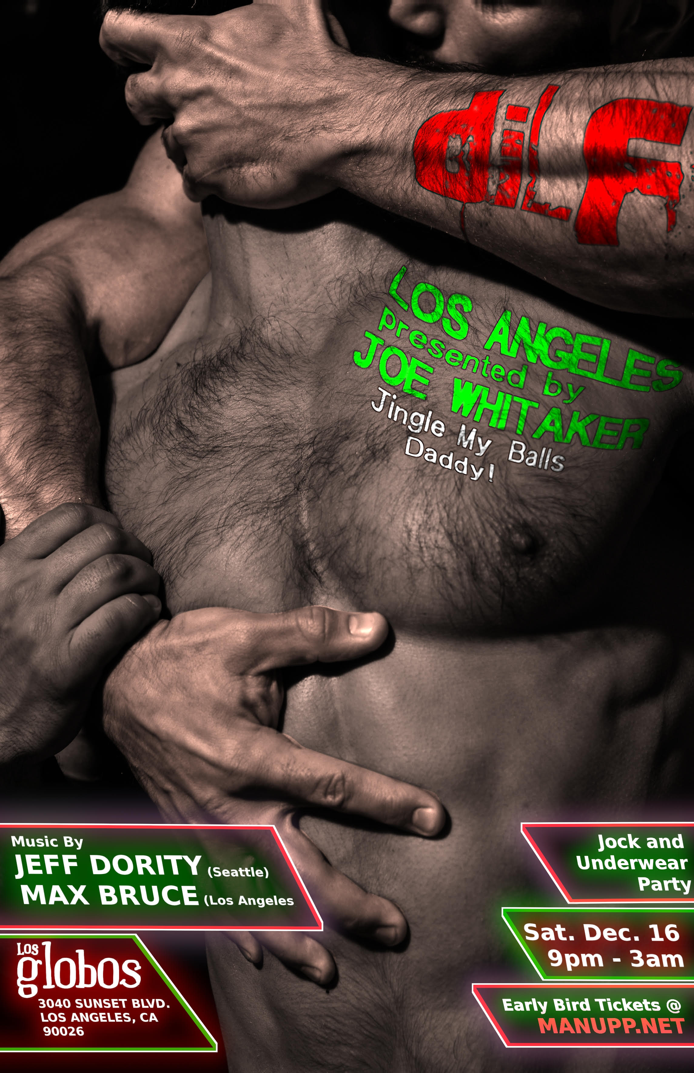 DILF Los Angeles Jock/Underwear Party by MAN UPP & Joe Whitaker