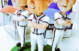 "Bobby Cox ""Carried Off"" Bobblehead Giveaway"