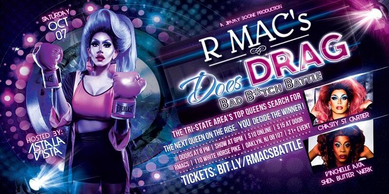 R Mac's Does DRAG - Bad B*tch Battle